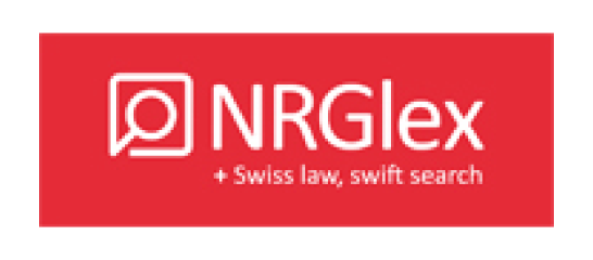 NRGlex Swiss law swift search